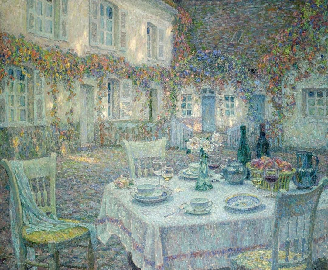 «Метерлинк живописи» — Анри Эжен Огюстен Ле Сиданэ (фр. Henri Eugеne Augustin Le Sidaner, 1862 — 1939)